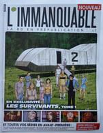 PREWIEW Ou Numéro 0 L'IMMANQUABLE N° 1 2010 LEO LES SURVIVANTS - ENKI BILAL - LE TUEUR - BERNARD PRINCE - Objets Publicitaires