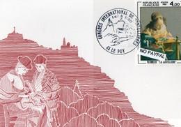 [43] Haute Loire > Le Puy En Velay Exposition Internationale De Dentelle 1982 - Le Puy En Velay