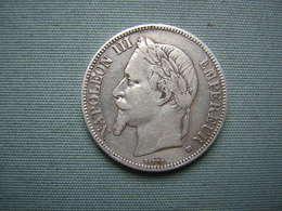 5 FRS NAPOLEON III - 1869 BB - ARGENT - J. 5 Francs