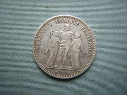 5 FRS HERCULE 1874 K - ARGENT - J. 5 Francs