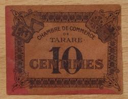 TARARE ( 69) / 10 Centimes  Chambre De Commerce ND ( 1920) - Chambre De Commerce