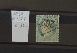 03 - 20 // France N° 37 Oblitéré GC 2627 - Neufchateau - Vosges - 1870 Siège De Paris