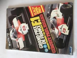 Programme OFFICIEL  Grand Prix De France F1 1983 AVEC AUTOGRAPHES - Automobile - F1