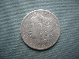 ETATS-UNIS - DOLLAR MORGAN 1889 - ARGENT - 1878-1921: Morgan