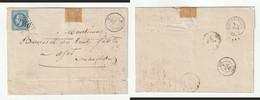 1868 N°29 Oblitéré GC 2346 Meyssac (corrèze) Sur LAC (lot 400a) - 1863-1870 Napoléon III Lauré
