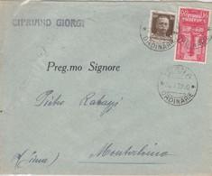 Da Siena - Cent. 30 Imperiale +  Cent. 20 Accademia Navale Livorno 1932 - 1900-44 Victor Emmanuel III