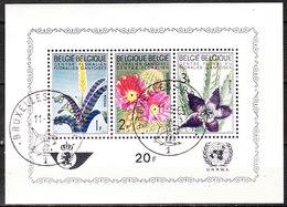 BL47  Floralies Gantoises - Oblit. 1er Jour - LOOK!!!! - Blocks & Sheetlets 1962-....