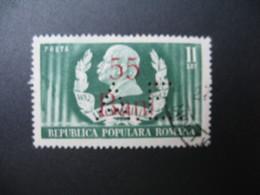 Perforé Perfin Lochung , Roumanie   See, à Voir  AE  15 - Romania