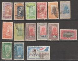 Ex-Colonies Françaises Cote Des Somalis Ensemble De 15 Timbres (Voir Détail) - French Somali Coast (1894-1967)