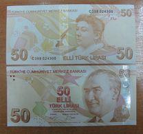 AC - TURKEY -  9th EMISSION 50 TL D UNCIRCULATED - Türkei