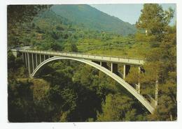 06 St Blaise Le Viaduc D'une Seule Arche En Béton 80 M De Portée - France