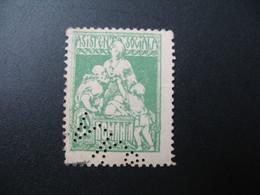 Perforé Perfin Lochung , Roumanie   See, à Voir  AK&F  33 - Romania