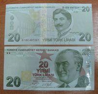 AC - TURKEY - 9th EMISSION 20 TL D UNCIRCULATED - Türkei
