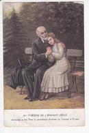 Ste Thérèse De L'Enfant-Jésus Demande à Son Père A Permission D'entrer Au Carmel à 15 Ans, Ed. STO - Peintures & Tableaux