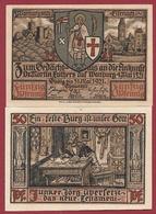 Allemagne 1 Notgeld 50 Pfenning Stadt Eisenach Dans L 'état Lot N °6000 - [ 3] 1918-1933 : République De Weimar