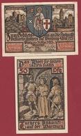 Allemagne 1 Notgeld 50 Pfenning Stadt Eisenach Dans L 'état Lot N °5999 - [ 3] 1918-1933 : République De Weimar