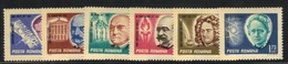 Roumanie 1967 Yvert 2317/22 Neufs** MNH (AB36) - Unused Stamps