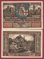 Allemagne 1 Notgeld 50 Pfenning Stadt Eisenach Dans L 'état Lot N °6003 - [ 3] 1918-1933 : République De Weimar