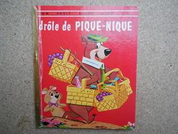 Un Petit Livre D'or Drôle De Pique Nique, Hanna-barbera, Yogi, 1965....4A010320 - Autres