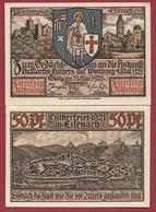 Allemagne 1 Notgeld 50 Pfenning Stadt Eisenach Dans L 'état Lot N °6004 - [ 3] 1918-1933 : République De Weimar
