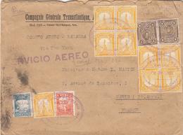 PÉROU . Compagnie Générale Transatlantique Vers La France En 1931 - Perú