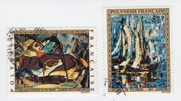 Polynésie Française, PA65+66 - Neufs