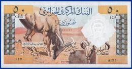 AFRIQUE ALGÉRIE 50 DINARS NEUF SÉRIE A.213 - N° 129 DU 1-1-1964-SUR MON SITE - Serbon63 DES MILLIERS D'OBJETS EN VENTES - Algérie