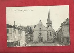 CPA  -  Jouy En Josas  -  Place De L'église - Jouy En Josas