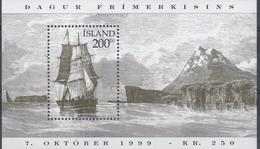 +Iceland 1999. Day Of The Stamp. Bloc. Michel 24. AFA 909. MNH(**) - Blocchi & Foglietti