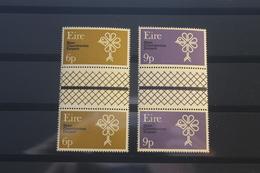 Irland Zwischenstegpaar Europäisches Naturschutzjahr 1970, Postfrisch - 1970