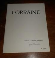 Lorraine. Six Dessins à La Plume De Jean Morette. N°00086. - Lorraine - Vosges