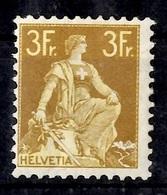 Suisse YT N° 127 Neuf *. B/TB. A Saisir! - 1882-1906 Stemmi, Helvetia Verticalmente & UPU
