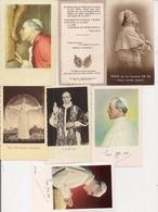 Lot D'Images Pieuses Ou Religieuses   -   SA SAINTETE PIE XII - Images Religieuses