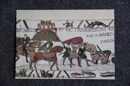Art, Tapisserie  - Tapisserie De BAYEUX : L'armée Normande Traverse Le Couesnon à Hauteur Du Mont Saint Michel - Bellas Artes
