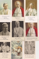 Lot D'Images Pieuses Ou Religieuses   -   SA SAINTETE PIUS X - Santini