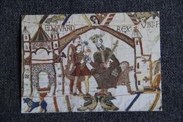 Art, Tapisserie  - Tapisserie De BAYEUX : Le Roi Edouard Le Confesseur Charge Harold 'aller Confirmer Au Duc Guillaume.. - Bellas Artes