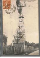 CPA Parigné-L'Évêque (72) Éolienne Et Château D'eau De 1929 - France