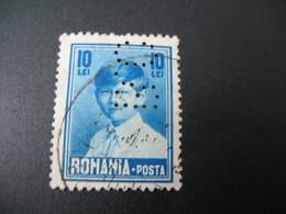 Perforé Perfin Lochung , Roumanie   See, à Voir  BC  26 - Romania