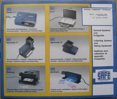 SAFE/I.D. - Jeu MONACO 1998 - Pré-Imprimés