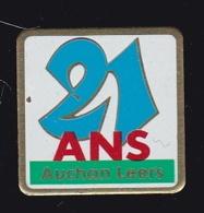 63756- Pin's-Auchan.Leers. - Villes