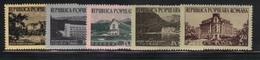 Roumanie 1954 Yvert 1340/44 Neufs** MNH (AB34) - 1948-.... Repubbliche