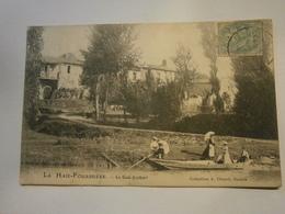 La Haie Fouassière Le Gué Joubert,,Loire Atlantique 44,voyagée 1905, Bon état,nature, - Francia