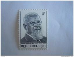 Belgie Belgique 1980 Frans Van Cauwelaert COB 1965 Yv 1964 MNH ** - Belgium