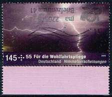 Bund 2009,Michel# 2710 O  Wohlfahrt: Himmelserscheinungen - Gebraucht