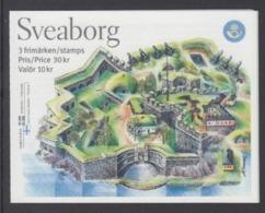 SVEZIA 2006 BOOKLET FORTEZZA SUOMENLINNA SVEABORG  MNH - Svezia