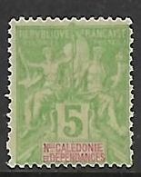 NOUVELLE-CALEDONIE N°59 NSG - New Caledonia
