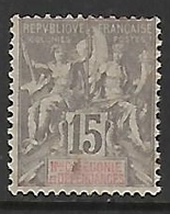 NOUVELLE-CALEDONIE N°61 NSG - New Caledonia