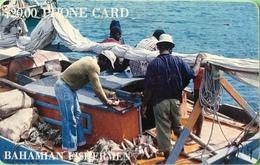 BAHAMAS  -  Phonecard  -  Batelco  - Fishing Boat  -  $ 20 - Bahama's