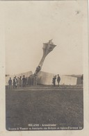 Aviazione - Riunioni - Milano 1910  - Circuito Aereo Internazionale -  Incidente Tra Thomas E Dickson - Meetings