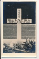 CPA Carte-photo Amateur Tombe Du Général PATTON Au Luxembourg - Altri
